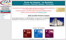 Interface de L'École du Campus
